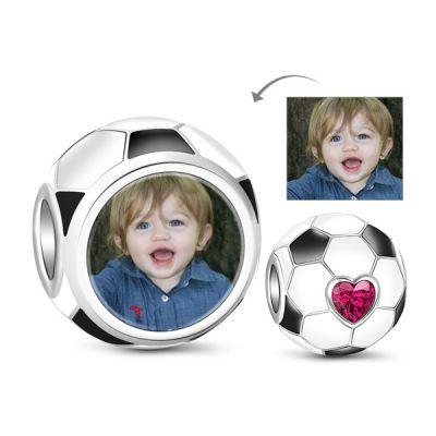 Soccer Photo Charm