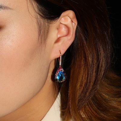 Colorful Sea Drop Earrings