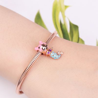 Lovely Mermaid Charm