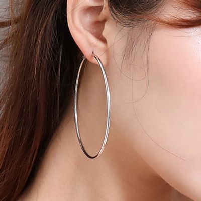 Exaggerated Creative Hoop Earrings