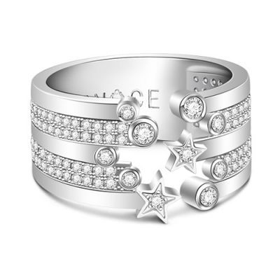 Shining Stars Open Ring