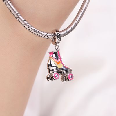 Roller Skate Pendant