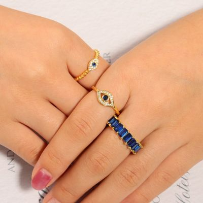 Devil's Eye Ring Set