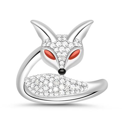 Red Eye Fox Ring