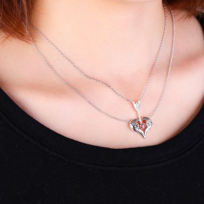 Arrow & Wings Necklace
