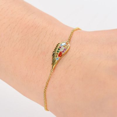 Multicolour Wings Bracelet