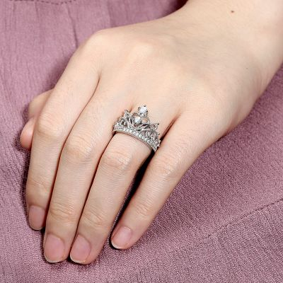 Tiara Crown Ring
