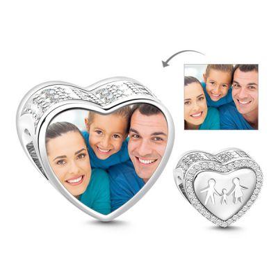 Family Photo Charm
