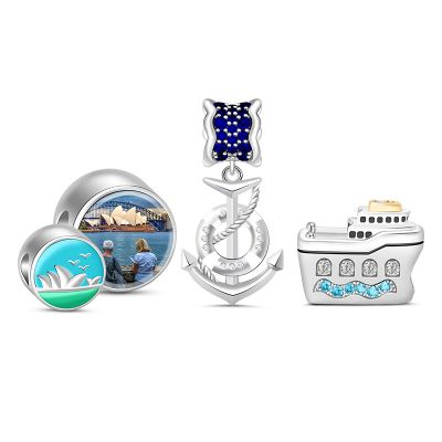 Travel Photo Charm Set