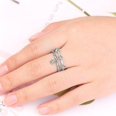 Star Adjustable Ring