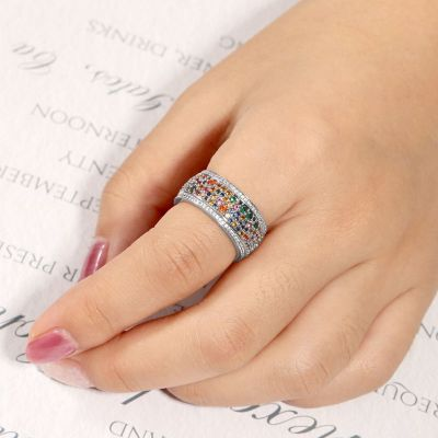 Colorful Band Ring