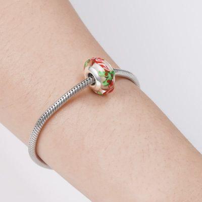 Candy Cane Charm Bead