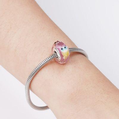 Princess Murano Glass Charm