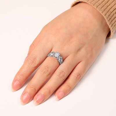 Oval Cut Ring