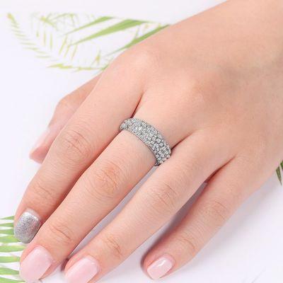 Crystals Band Ring