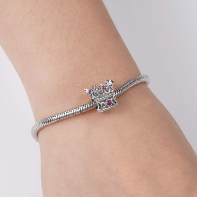 The Queen's Crown Charm