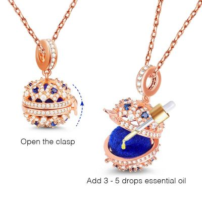 Essential Oil Ball Necklace