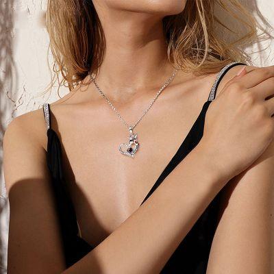 Giraffe Heart Necklace