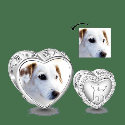 Puppy Photo Charm