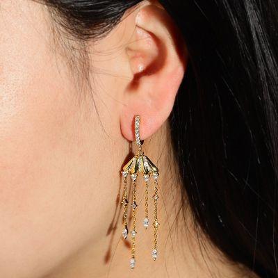 Jellyfish Drop Earring
