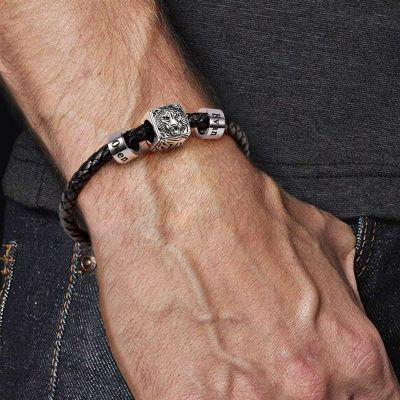 Tiger Personalized Charm Bracelet