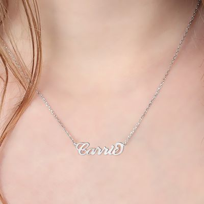 Casual Silver Necklace