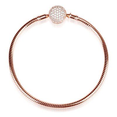 18K Rose Golden Bracelet
