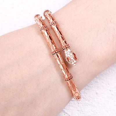 Snake Bracelet - Brass