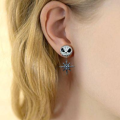 Skull Star Earrings
