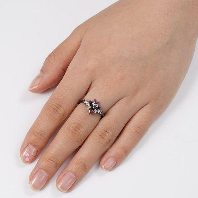 Black Cat V Ring