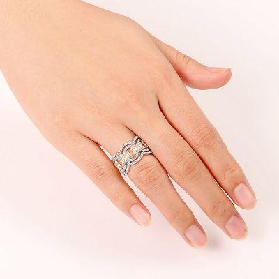 Interlaced Band Ring