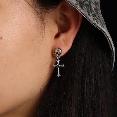 Skull Cross Earrings