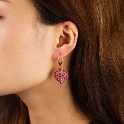 Dreamcatcher Diamond Earrings
