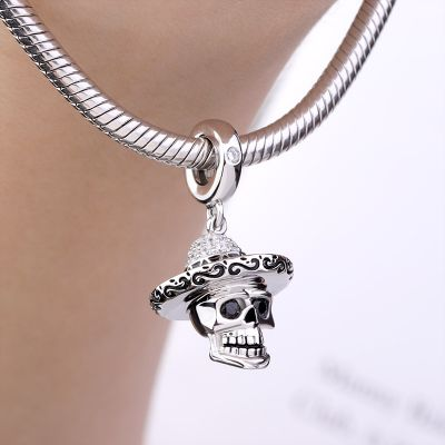Mexican Skull Charm