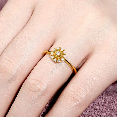 Flower Promise Ring