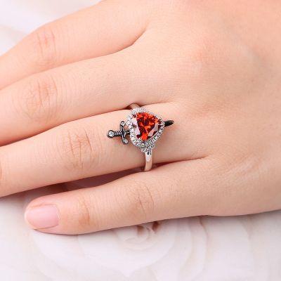Heart-Shaped Ring