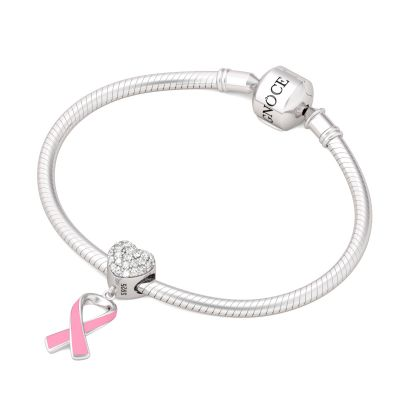Breast Cancer Awareness Charm