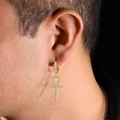 Ankh Men's Earring