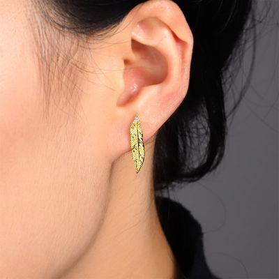 Feather Ear Studs