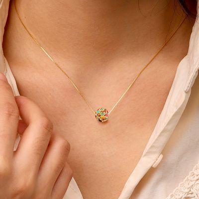 Toucan Hollow Necklace