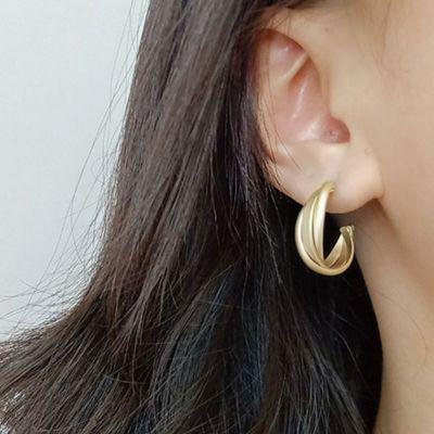 Sprial Hoop Earring