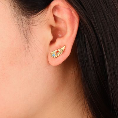 Angle's Wings Ear Studs