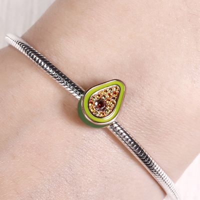 Green Avocado Charm