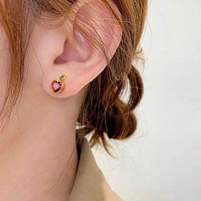 Apple Stud Earrings
