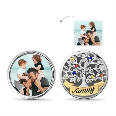 Tree of Life Photo Charm
