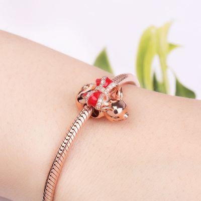 Piggy Charm Bead