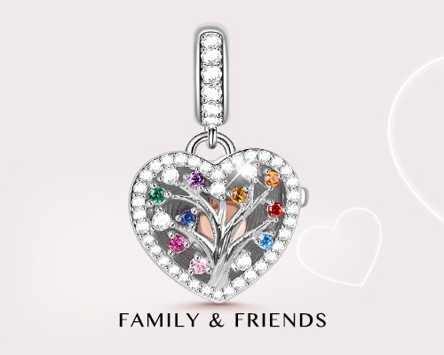 Family Friends Charms